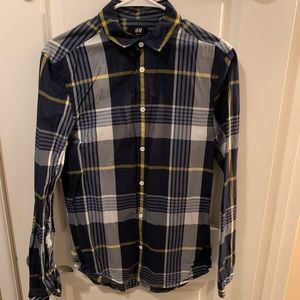 H&M Slim Fit Button Up Shirt